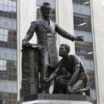 Lincoln and Slave Statue - Boston